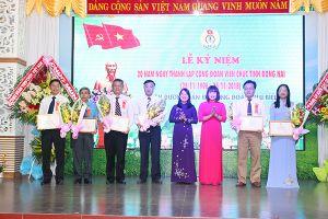 Kỷ niệm 20 năm thành lập Công đoàn Viên chức tỉnh