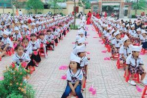 Trường Tiểu học Diễn Thành khắc phục mọi khó khăn hoàn thành tốt nhiệm vụ dạy học