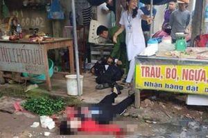 Hải Dương: Nghi phạm sát hại người phụ nữ bán đậu ở chợ Bến Tắm đã tử vong