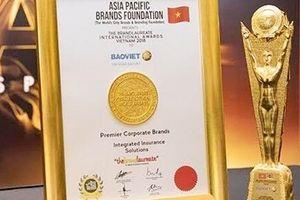 Tập đoàn Bảo Việt được vinh danh giải Quản trị Công ty khu vực ASEAN