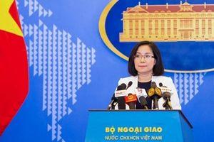 Việt Nam lên tiếng về hợp tác khai thác dầu khí giữa Trung Quốc và Philippines ở Biển Đông