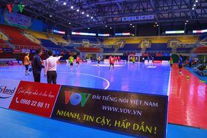 Giải Futsal HDBank Cúp Quốc gia 2018: Quảng Ninh đã sẵn sàng cho ngày hội