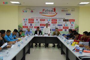Bốc thăm chia cặp đấu VCK giải Futsal HDBank Cúp Quốc gia 2018