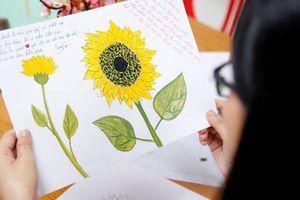 Sinh viên 'Hành động vì những đóa hướng dương' vì bệnh nhi ung thư