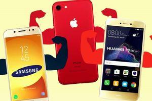 Điện thoại Samsung, Huawei và Apple bán chạy nhất thế giới