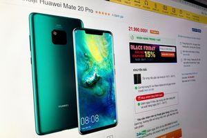 Loạt smartphone giảm hàng triệu đồng dịp Black Friday ở VN