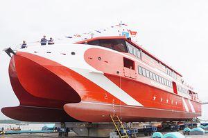 Hải Phòng: Hạ thủy tàu cao tốc chở khách lớn nhất Việt Nam