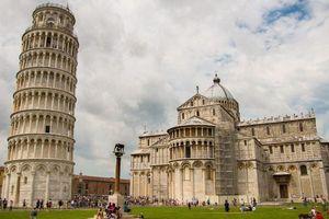 Tháp nghiêng Pisa dần mất độ nghiêng