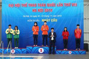 Đại hội Thể thao toàn quốc lần VIII: Hà Nội nhất toàn đoàn môn Nhảy cầu