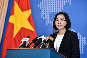 Kiên quyết phản đối hành động vi phạm chủ quyền của Việt Nam ở Hoàng Sa và Trường Sa