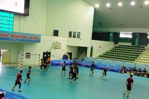 Hà Nội giành ngôi nhất vòng bảng môn bóng ném nam