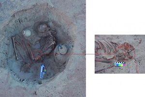 Phát hiện xương người phụ nữ Ai Cập cổ đại đang mang thai
