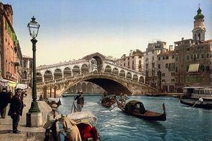 Ảnh màu tuyệt diệu về thành phố Venice những năm 1890 (1)