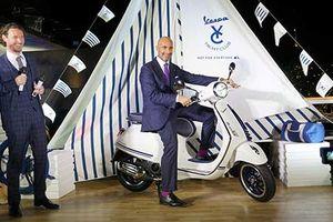 Cận cảnh Vespa Primavera Yacht Club giá 77,5 triệu đồng