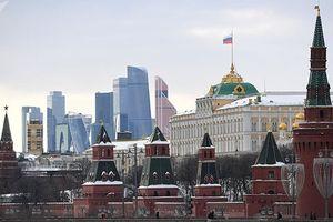 Xuất hiện 2 máy bay trực thăng bí ẩn trên bầu trời Moscow