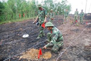 Hơn 2.000 nạn nhân thương vong do bom mìn tồn sót
