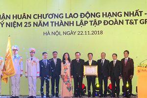 T&T Group nhận Huân chương Lao động hạng Nhất và ra mắt bộ nhận diện thương hiệu mới