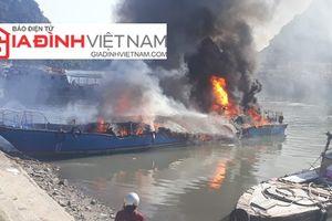 Quảng Ninh: Cháy tàu cao tốc tại Cảng Cái Rồng, thiệt hại lớn