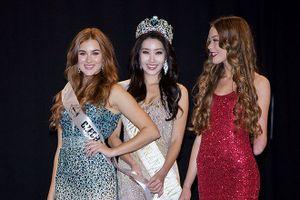 Cô gái khuyết tật gây chú ý ở cuộc thi Hoa hậu Siêu quốc gia 2018