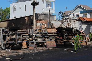 Vụ cháy xe bồn khiến 6 người chết ở Bình Phước: Sẽ khởi tố vụ án