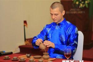 15 quốc gia tham dự Cuộc thi nghệ nhân trà thế giới tại Huế