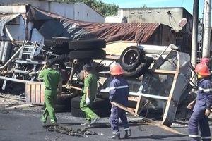 Sẽ khởi tố vụ cháy xe bồn chở xăng làm 6 người tử vong ở Bình Phước