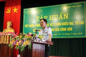 Hà Tĩnh: KN, TC giảm sâu nhờ tăng cường giáo dục, phổ biến pháp luật