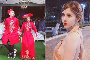Nhan sắc lai Tây quyến rũ của vợ sắp cưới hot vlogger Huy Cung