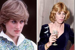 Hé lộ cuộc cãi vã 'nảy lửa' giữa Công nương Diana và bà Camilla