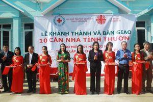 Thanh Hóa: Bàn giao nhà tình thương hỗ trợ các hộ nghèo