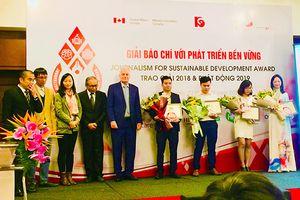Phóng viên báo Đồng Nai đoạt giải C báo chí viết về phát triển bền vững