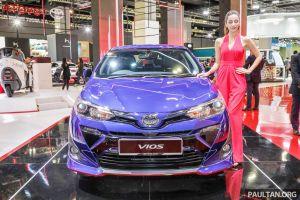 Toyota ra mắt Vios 2018, giá bán 429 triệu đồng