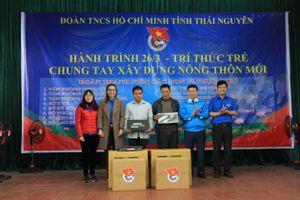 Tuổi trẻ Thái Nguyên chung tay xây dựng NTM