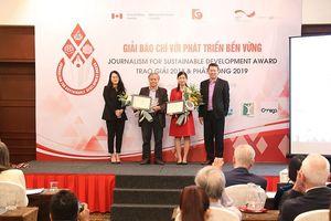 Tác phẩm của báo Đầu tư đạt giải C Giải Báo chí với phát triển bền vững 2018