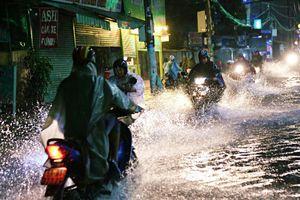 Sài Gòn có thể ngập nặng vào tối nay và ngày mai do ảnh hưởng của bão số 9