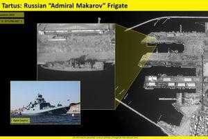 Israel 'lạnh người' khi thấy chiến hạm cực mạnh của Nga trong cảng Syria