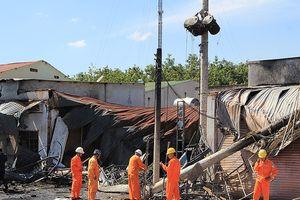 Sẽ khởi tố vụ lật xe bồn gây cháy lớn ở Bình Phước