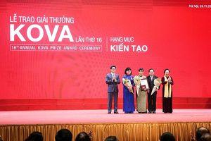 Nhiều công trình ý nghĩa được vinh danh ở giải thưởng KOVA 16