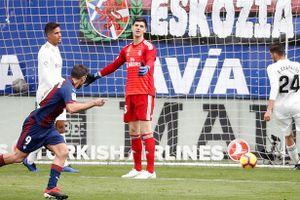 Real Madrid thua đậm cực sốc trước Eibar