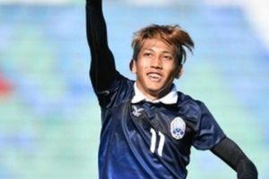 'Messi Campuchia' từng 'đánh sập' chảo lửa Hàng Đẫy bằng một hattrick!