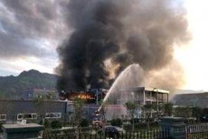 Nổ nhà máy ở Trung Quốc khiến hai người chết