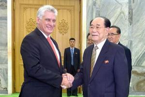 Chủ tịch Quốc hội Triều Tiên công du Cuba, Venezuela và Mexico