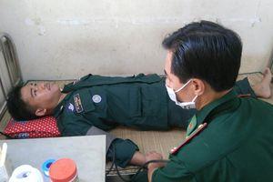 Trạm quân dân y ở vùng biên giới