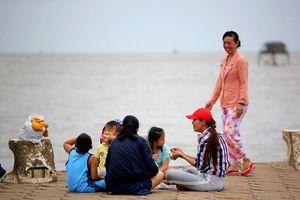 Nhiều người dân Tiền Giang vẫn 'bình thản' trước bão số 9