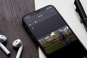 Cách chèn nhạc vào video trên iPhone