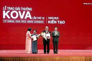 Lan tỏa các giá trị nhân văn qua lễ trao giải thưởng KOVA lần thứ 16
