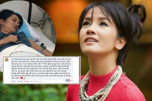Thực hư chuyện Hồng Nhung nhập viện do scandal ngoại tình của chồng cũ