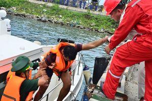 Diễn tập cứu nạn tàu bị đâm va trong vùng nước cảng biển 2018