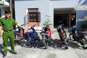 Triệt phá băng trộm và tiêu thụ xe máy liên huyện