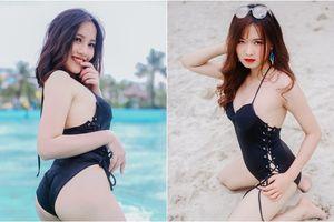 'Chất' như ĐH FPT: Thi Hoa khôi thí sinh diện toàn bikini đen khoe tất tần tật đường cong nóng bỏng